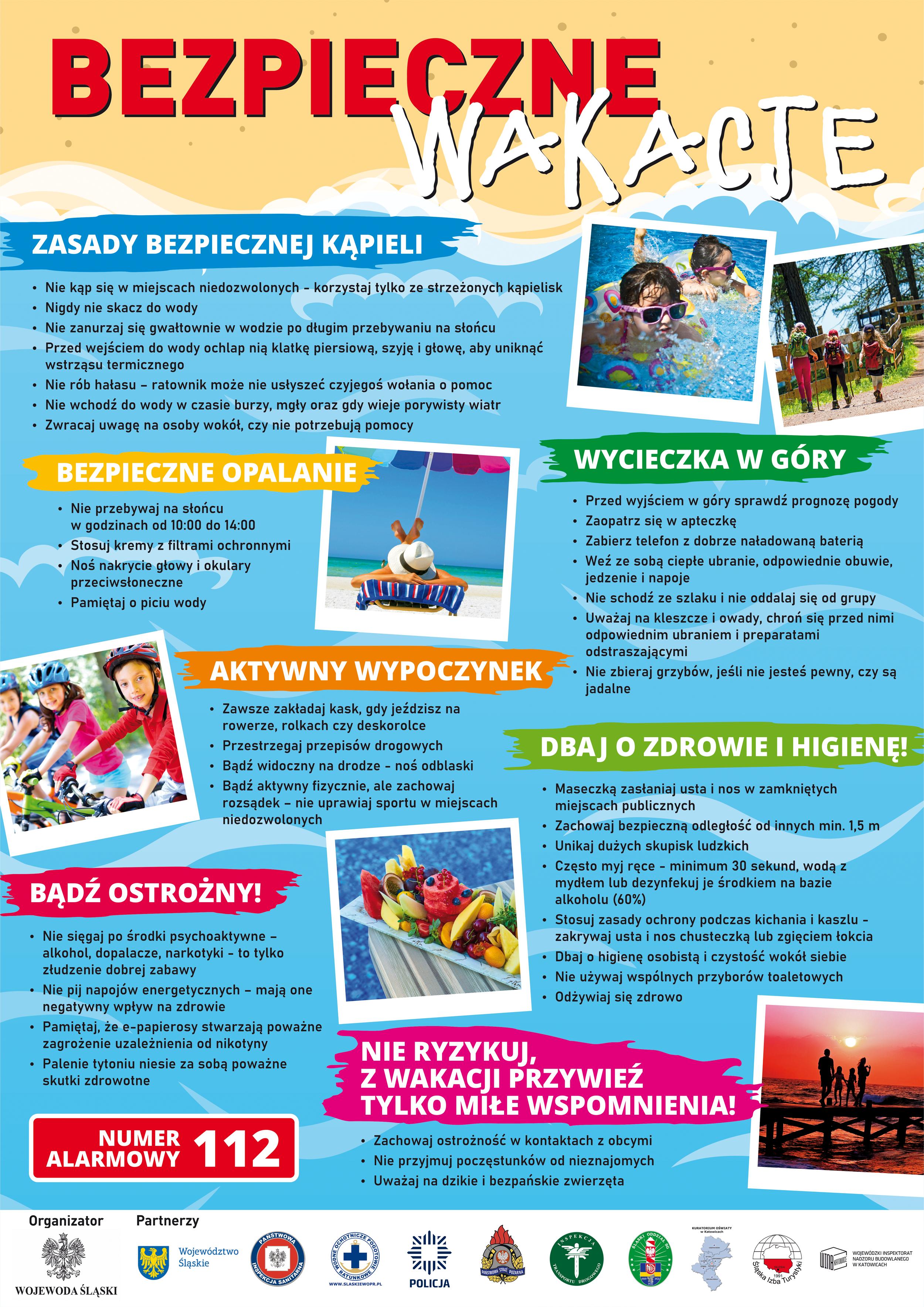 Bezpieczne wakacje 2021