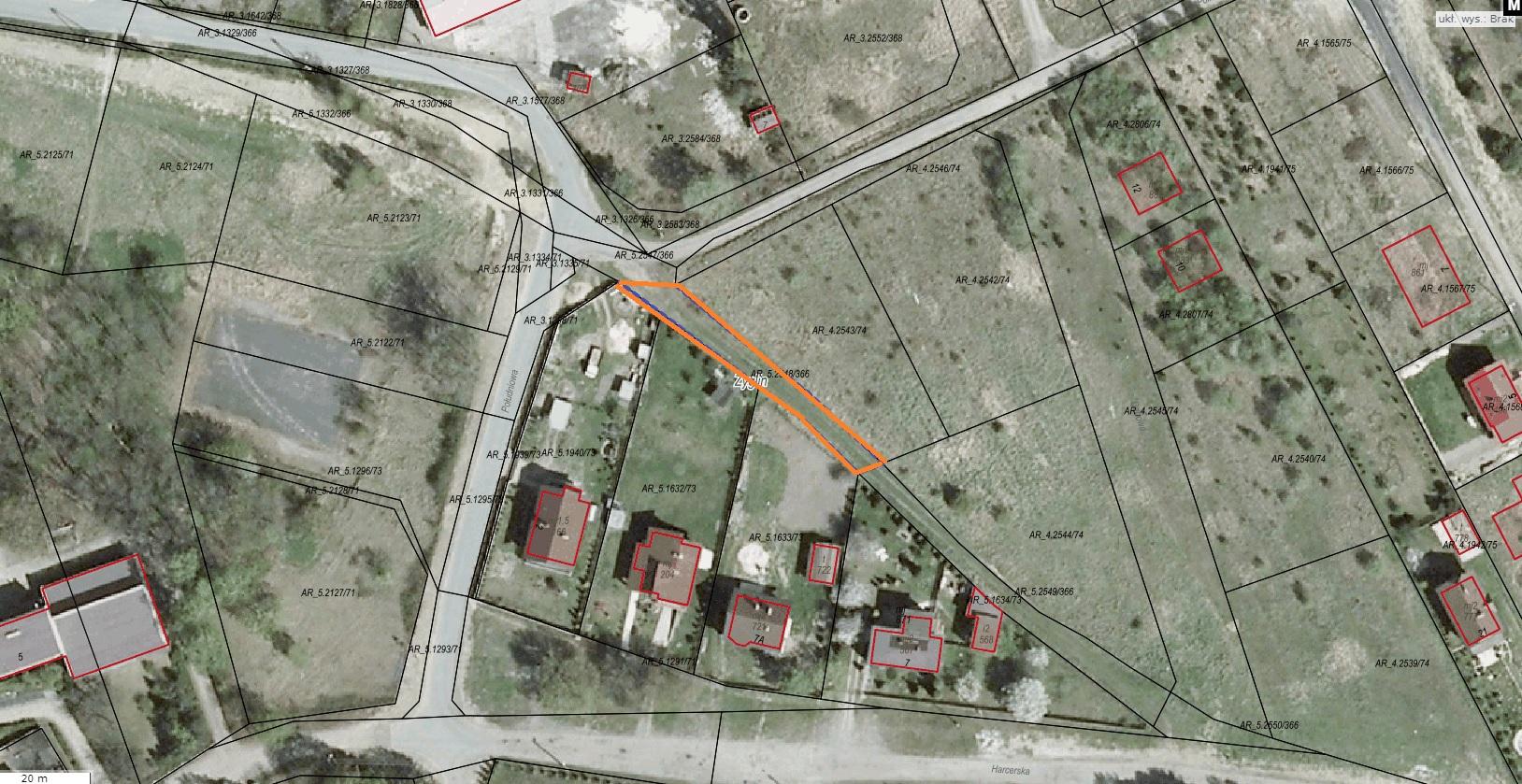 Ogłoszenie Burmistrza Miasta Miasteczko Śląskie o pierwszym przetargu ustnym ograniczonym na sprzedaż nieruchomości niezabudowanej