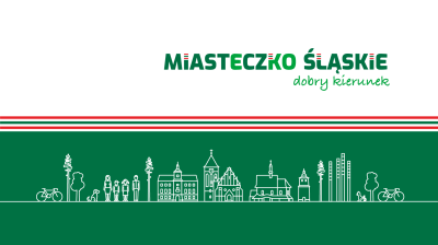 grafika do wpisu: Urząd Miejski oraz Centrum Sportu i Rekreacji w Miasteczku Śląskim