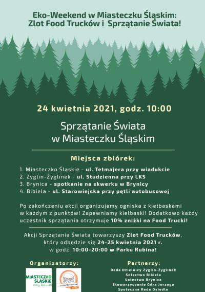 grafika do wpisu: Eko-Weekend w Miasteczku Śląskim