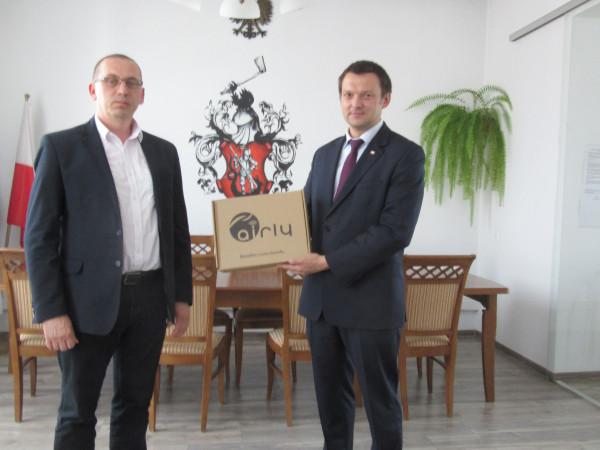 Nowy czujnik Airly w Miasteczku Śląskim