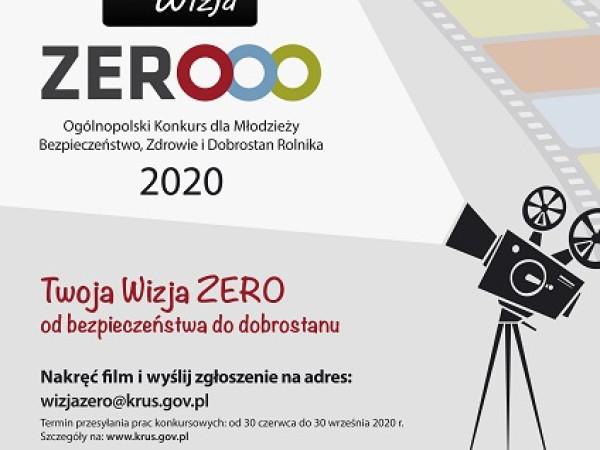 """II edycja konkursu """"Moja Wizja Zero"""""""