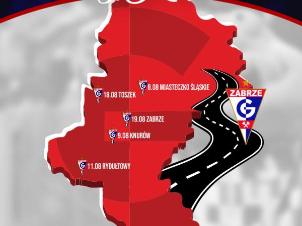 Wakacyjna trasa z Górnikiem