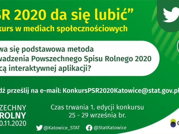 """Startuje konkurs """"PSR 2020 da się lubić""""!"""