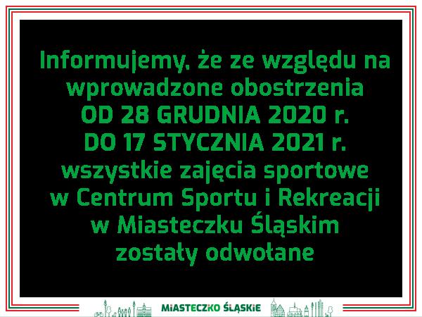 Zajęcia sportowe w Centrum Sportu i Rekreacji w Miasteczku Śląskim