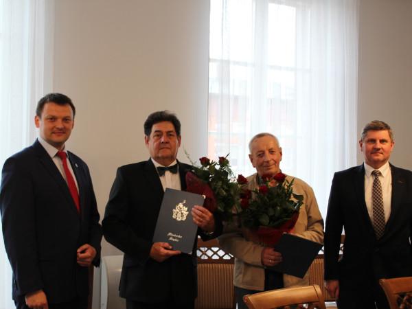 Wręczenie Nagród Burmistrza Miasta