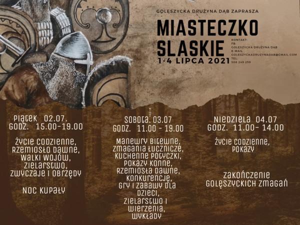I Golęszyckie Zmagania w Miasteczku Śląskim