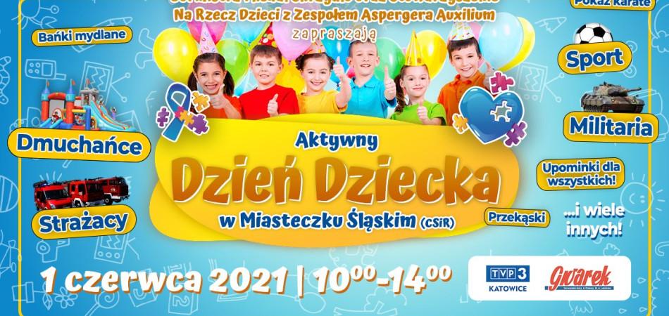 grafika dla wpisu: Aktywny Dzień Dziecka